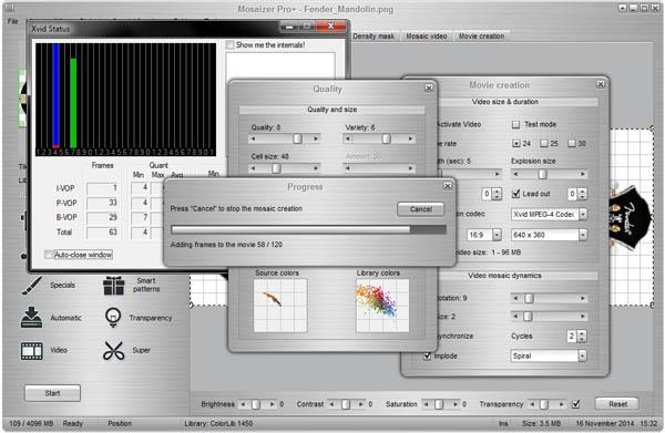 Mosaizer Pro Help